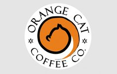 Orange Cat Coffee Company Logo