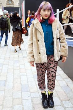 Fashion week memories! LFW street style babes