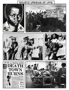 In 1976 black students protested that they had to be educated in Afrikaans. A revolt in Soweto and other townships ended in 575 deaths Youth Day South Africa, Steve Biko, Africa People, Youth Leader, Jim Crow, Apartheid, African American History, Native American