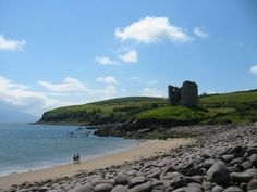 Dingle Peninsula - Minard Castle, Ireland - photo from Wikipedia  released free into public domain - click on it for a larger view
