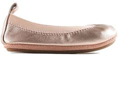 Yosi Samra Flats for Girls Rose Gold (1012132Y)