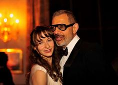 Jeff Goldblum and Emilie Livingston - Bloomberg