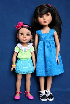 DollyPanic!: Hearts for Hearts dolls