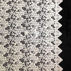 The berry inspired design of our Guipure French Venice Lace is 52/53'' inches wide and 100% polyester. This fabric is available in several colors and sold by the yard. This wonderful lace is perfect f