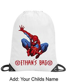 SWIMMING BAG PE BOY/'S GYMNASTICS PERSONALISED GYM BOY/'S GIFT /& NAMED TOO