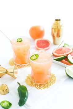 Spicy Paloma: http://www.stylemepretty.com/living/2015/09/04/15-cocktail-recipes-to-toast-the-weekend/