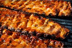 Apple Cider Baby Back Barbeque Ribs Ribs Au Barbecue, Bbq Pork Ribs, Ribs On Grill, Grilled Baby Back Ribs, Bbq Baby Back Ribs, Grilling Recipes, Pork Recipes, Cooking Recipes, Pork Meals