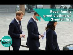 14 December 2017 - British Royal Family attends Grenfell Tower National Memorial Service at St Paul's cathedral in London - YouTube