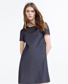 FLOWING DENIM DRESS-View All-DRESSES-WOMAN | ZARA United States