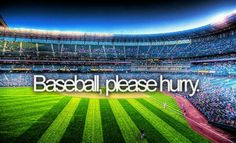 #baseballoffseason, Baseball please hurry
