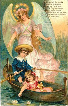 Cards Scrapbooking and Art: Vintage Angel & fairies (25)