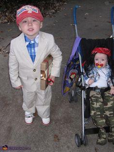 forrest gump lt dan kids costume - 7 Month Old Halloween Costume