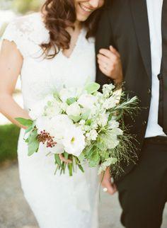 Beautiful wedding bouquet: http://www.stylemepretty.com/destination-weddings/2014/10/29/romantic-italian-wedding-inspiration/ | Photography: Rebecca Arthurs - http://rebecca-arthurs.com/