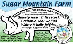 Sugar Mountain Farm Web Site Logo and Meat Label