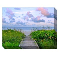 Have to have it. West of the Wind Walk Toward Dawn Outdoor Canvas Art $199