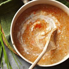Combined with a dash of cayenne pepper, it adds just a touch of heat to a deliciously creamy potato and cauliflower soup: http://www.bhg.com/recipes/soup/soup/vegetable-soup-recipes/?socsrc=bhgpin031614italiancauliflowersoup&page=7