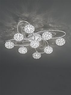 Beautiful. Decorative. Classy. AND LED!! Have stunning lighting and SAVE MONEY on your electricity bill! Win, win!