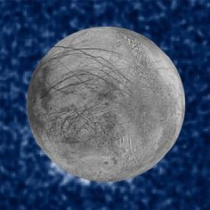 The NASA/ESA Hubble Space Telescope has imaged what may be water vapor plumes erupting off the surface of Europa, the sixth-closest moon of Jupiter and the smallest of its four Galilean satellites. Jupiter's Moon Europa, Jupiter Moons, Hubble Space Telescope, Sistema Solar, Jupiter Planeta, Moon Surface, Nasa Missions, Universe Today, Astronomy