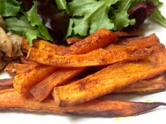 Coconut Spiced Sweet Potato Fries