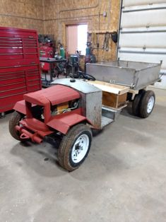 Used Garden Tractors, Small Garden Tractor, Golf Cart Parts, Diy Go Kart, Oak Hill, Dump Truck, Driving Test, Lawn Mower, Cars And Motorcycles