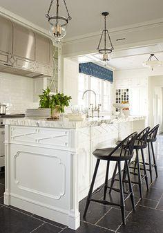 Beautiful detail in kitchen.