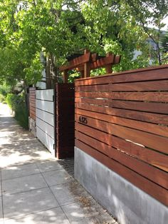 Cement fence designs for your home http://comoorganizarlacasa.com/en/cement-fence-designs-home/