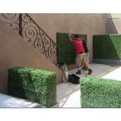 Artificial Boxwood Hedge Panels