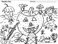 Halloween Creative Activities for Art Coloring, Drawing (6