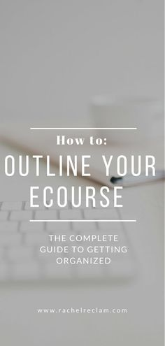 Planning out your course is key to creating an end product that is going to be useful for your learners, but it can be challenging to figure out how to get started. eCourse creator, creating online courses, infopreneur tips, podi