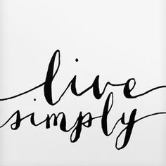 Live simply today. #inspiration #monday #mondaymotivation #happymonday #quote #instaquote #simplewisdom #wordsofwisdom  #qotd #simplybe #livesimply