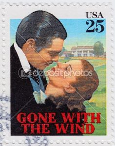 gone with the wind stamps!