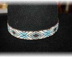 72eea7e58d3 Beautiful Hand Crafted Items by ChicRustiqueGifts · Beaded Hat BandsMake ...