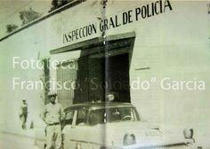 """AGUASCALIENTES ANTIGUO.  Fototeca: Francisco """"Soldado"""" García.    Antigua Inspección de Policía"""