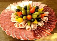 See related links to what you are looking for. Party Finger Foods, Finger Food Appetizers, Appetizer Recipes, Party Platters, Food Platters, Healthy Summer Snacks, Sandwich Platter, Charcuterie Platter, Cold Cuts