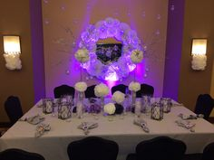 Wedding table decor.. DIY wedding decor on a budget..