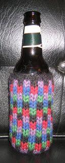 ChemKnits: Knit One below Beer Cozy