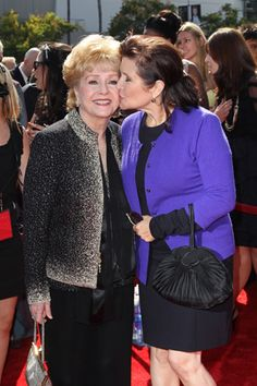 Debbie Reynolds & Carrie Fisher
