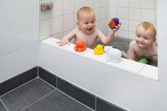 Bruseniche som badekar