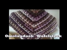 Omslagdoek wafelsteek van Lien de Haan en Wendy Rademaker - YouTube