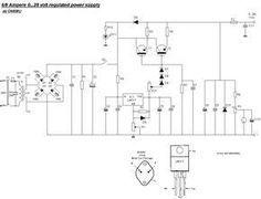 Simple 13.8V and 20A DC Power Supply Circuit Diagram | hobi ...