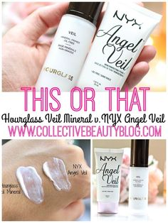 THIS OR THAT: Hourglass Veil Mineral v. NYX Angel Veil