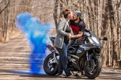 Our Dirtbike Gender Reveal Laylah Blair Motocross