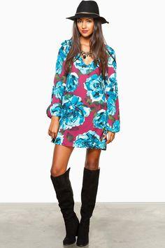 ShopSosie Style : Olivine Shift Dress