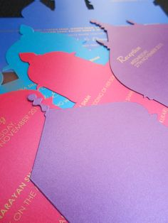 invites in the shape of taj mahal for a destination wedding in Agra