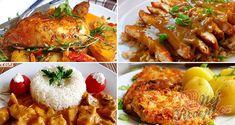 12 skvělých receptů, díky kterým už budete vědět co navařit na neděli! Borscht Soup, Appetizer Plates, Seafood Dishes, Tasty Dishes, Tandoori Chicken, Main Dishes, Breakfast Recipes, Chicken Recipes, Vitamins