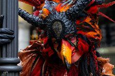 Maskenzauber Hamburg und die Harpyie zu Besuch