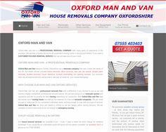 Man & Van Oxford Removals