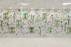 Special Project: Eduardo Sarabia. Celebrations and Other Feathered Serpent | Museo Tamayo | Artsy