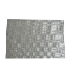 Silver weave placemat