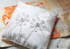 和のリングピロー 「花嫁白無垢」 | 小さなアトリエカーロカーラ